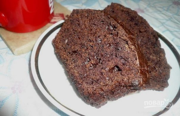 Кекс тыквенный с шоколадом