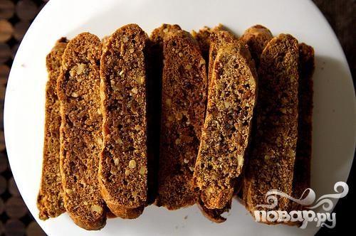 Печенье с орехами и инжиром