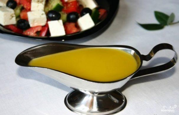 Заправка к греческому салату