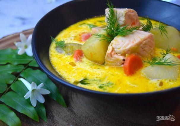 Рецепты супов из рыбы