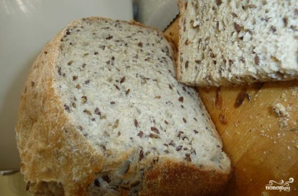 Диетический хлеб в хлебопечке