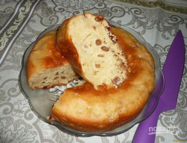 Тесто на ряженке для пирога