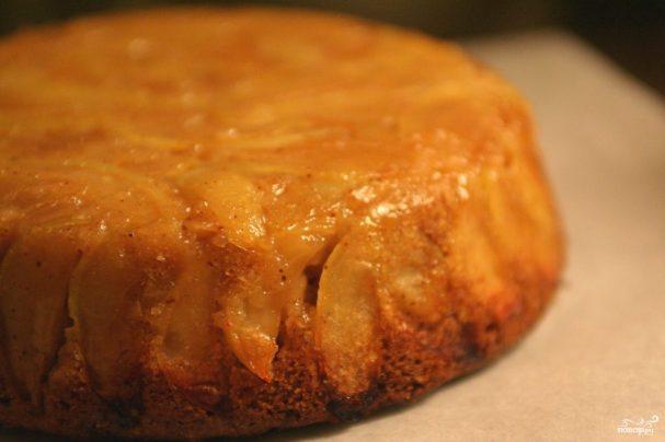 Пирог с замороженными яблоками рецепт пошагово в духовке