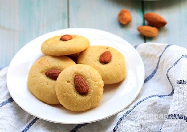 Китайское миндальное печенье