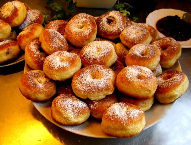 Тесто на пончики