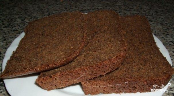 Черный хлеб в хлебопечке