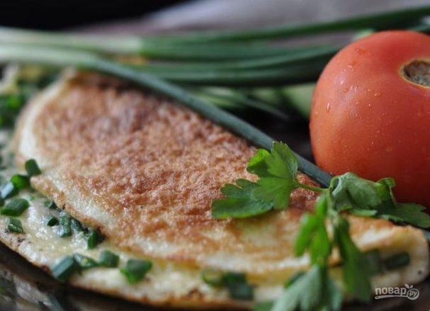 Болгарский завтрак: брынза с яйцом