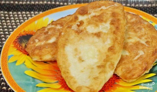 жаренные пирожки с творогом рецепт с фото