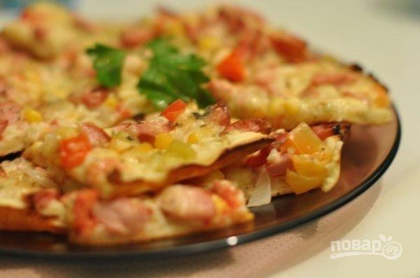 Тесто из кефира для пиццы