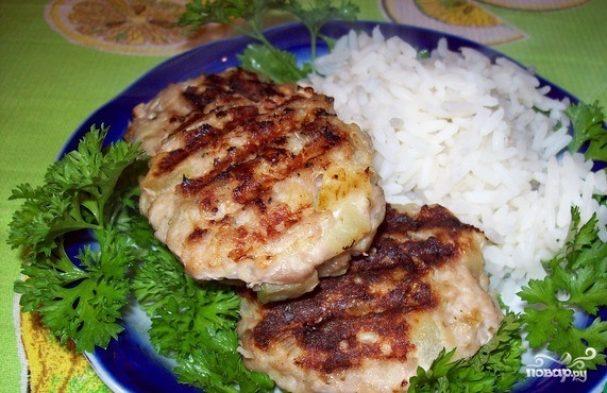 Куриные фрикадельки-гриль