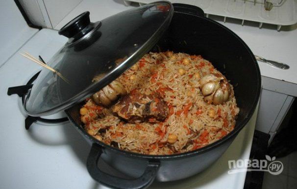 Как приготовить узбекский плов в казане рецепт пошагово