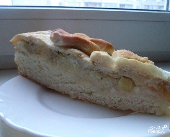Сибирский рыбный пирог