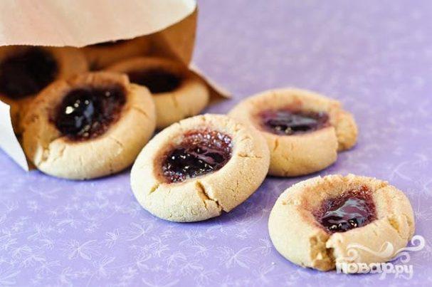 Мини-печенье с джемом
