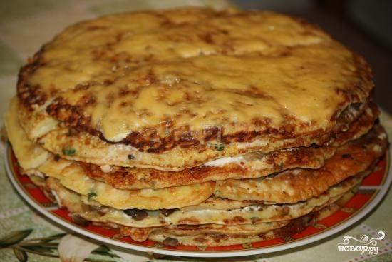 """Закусочный торт """"Княжеский"""""""