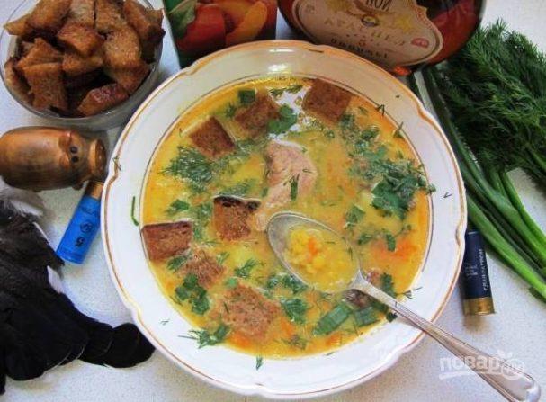 Суп из тетерева