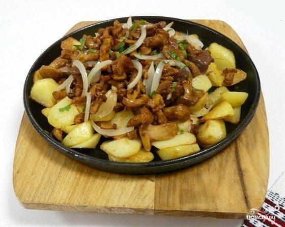 как вкусно приготовить грибы белые с картошкой