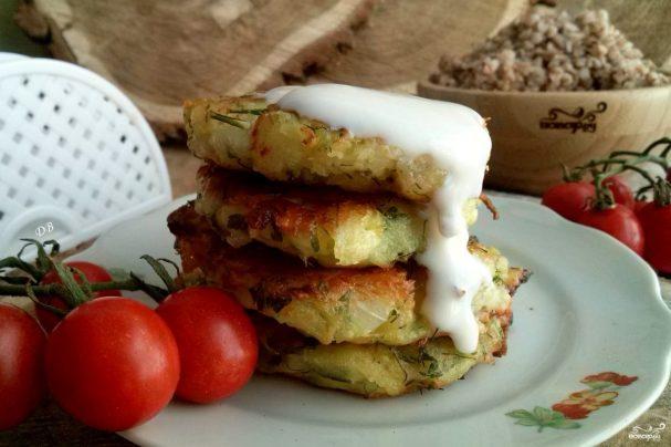котлеты из кабачков с чесноком и сыром рецепт