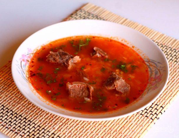 Суп «Гаспачо» горячий
