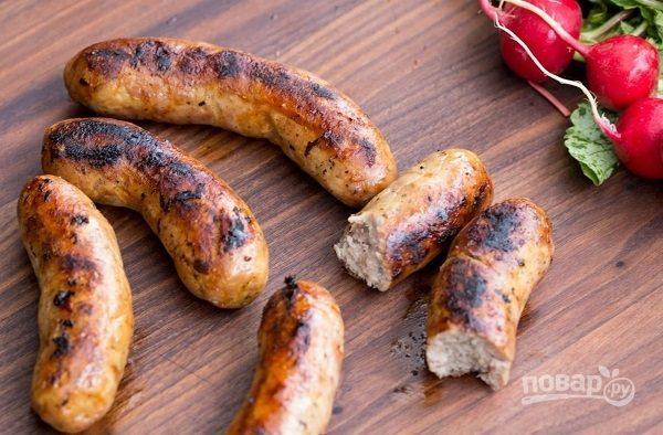 Колбаски для жарки в духовке