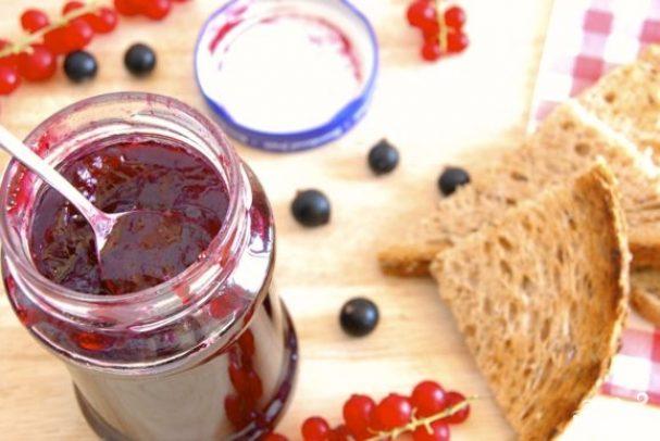 Варенье из смородины с желатином