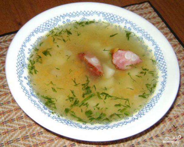 Рецепт с пошаговым суп гороховый