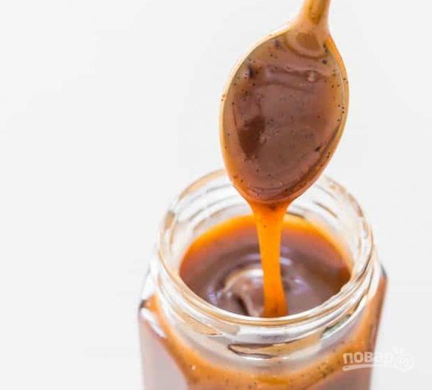 Карамельно-ванильный соус