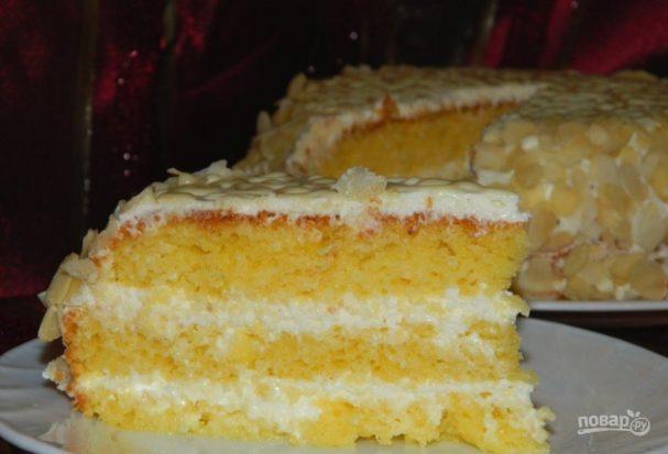 """Торт """"Белоснежка"""""""