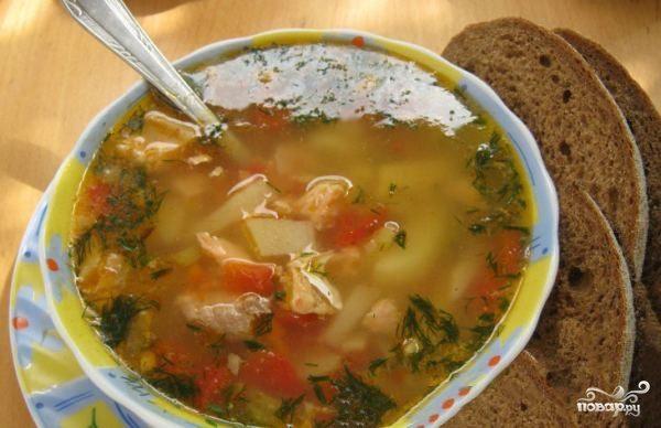 Суп картофельный с треской