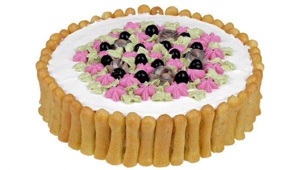 """Закусочный торт """"Дамские пальчики"""""""
