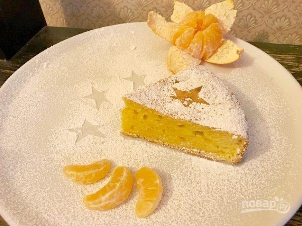Пирог из мандаринов