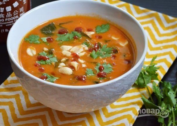 Африканский ореховый суп