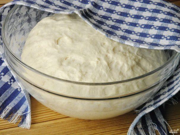 Постное тесто для пирога