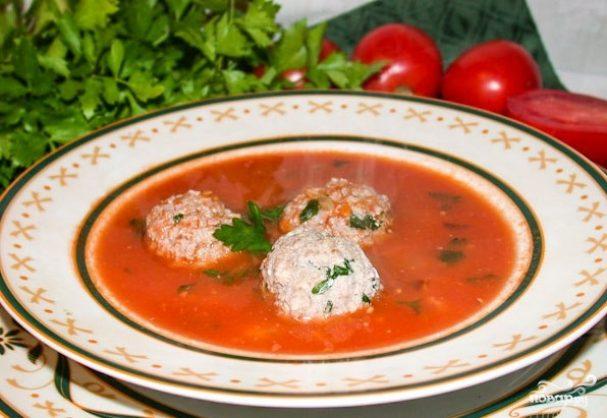 гречневый суп с фрикадельками рецепт пошагово с фото