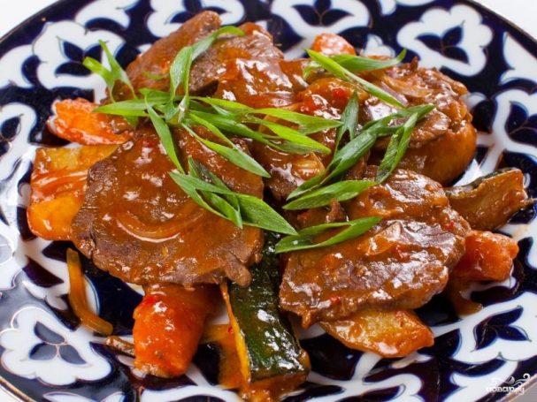 Мясо по-уйгурски