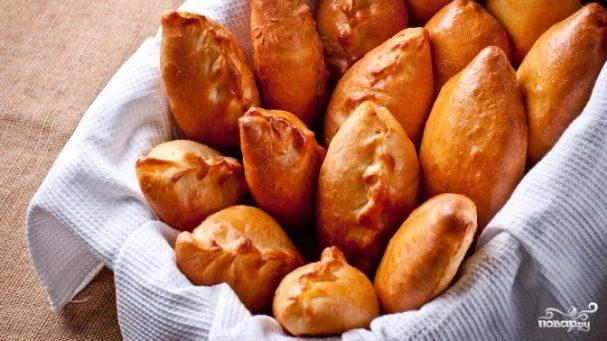 Пирожки с картошкой и рыбой