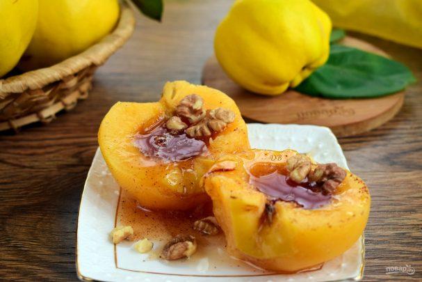 Шикарный десерт из айвы