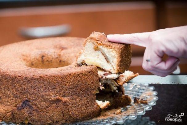 Бабушкин яблочный пирог с корицей