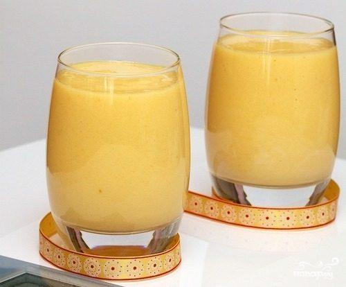 Смузи из манго и абрикоса
