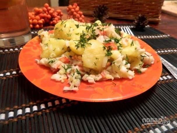 Картофель по-камчатски