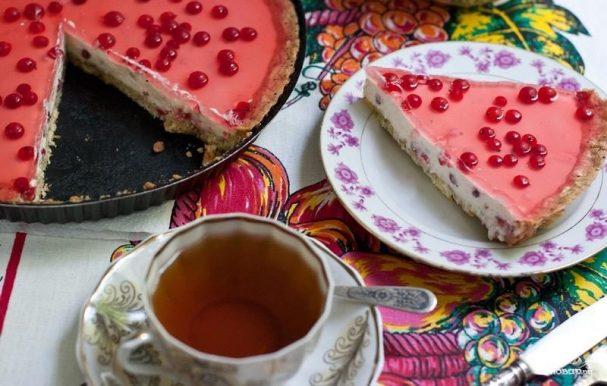 Торт из красной смородины