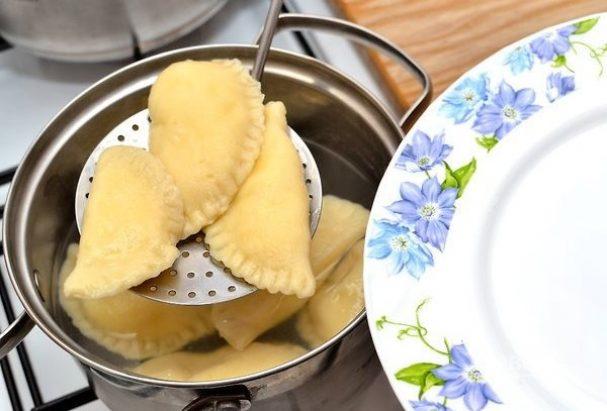 Равиоли с тремя видами сыра
