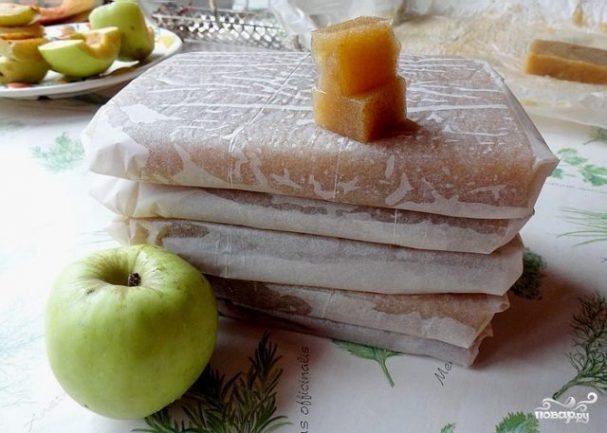 Мармелад натуральный яблочный