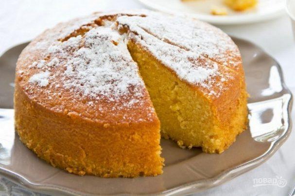 Бисквит с апельсинами