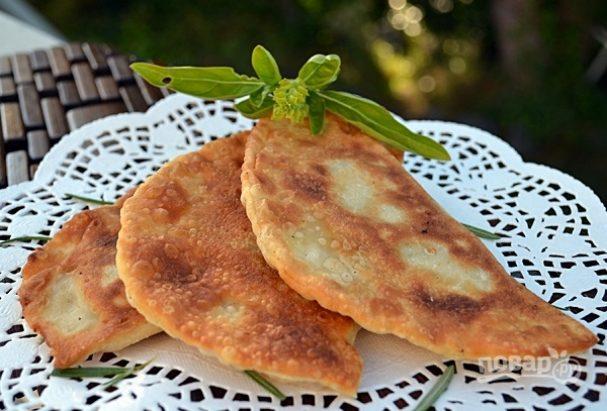 сочные чебуреки-пошаговый рецепт с фото