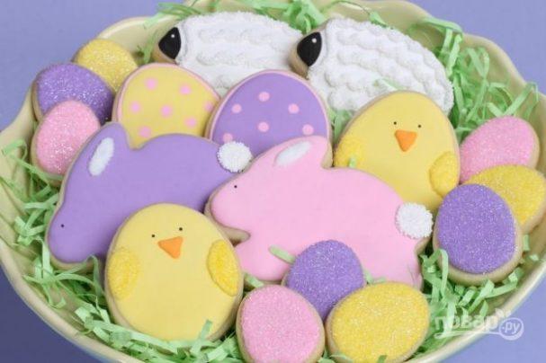 Фигурные печенья