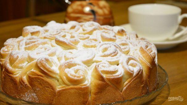 """Пирог """"Букет роз"""""""