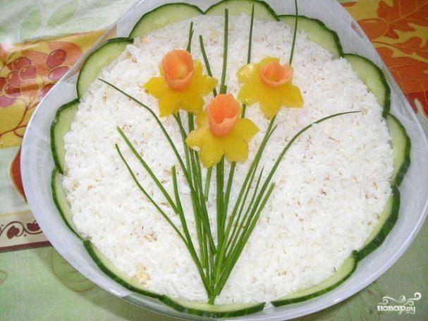 рецепт салат нарциз