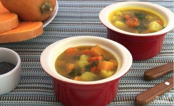 Вегетарианский тыквенный суп