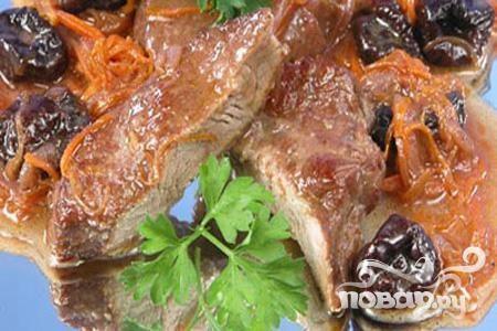Мясо по-гречески