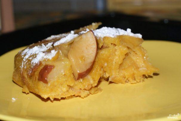 Яблочный пирог вегетарианский